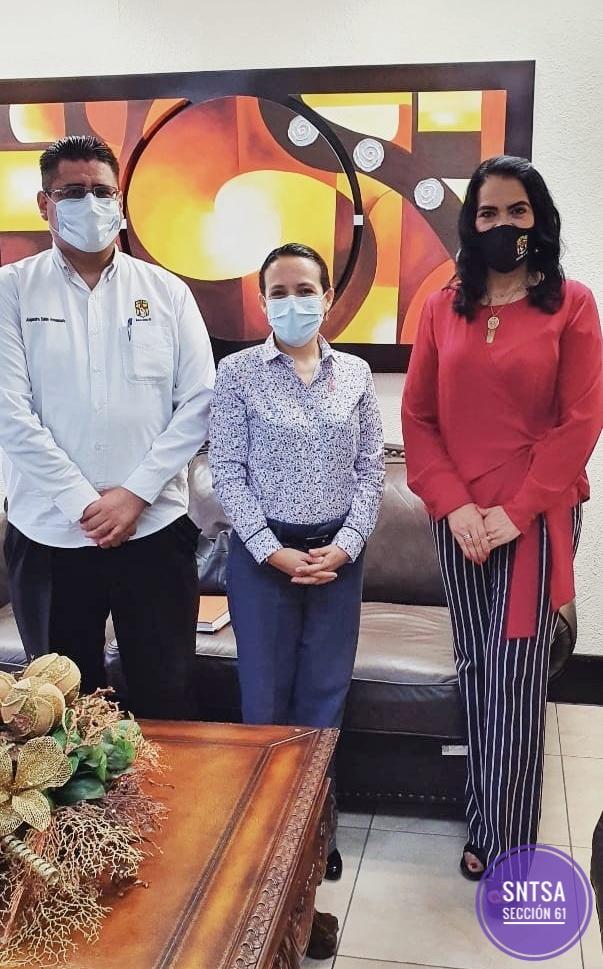 Reunión con Secretaria de Salud Dra. Zazil Flores Aldape